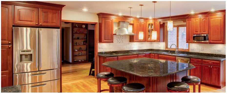 High end kitchen woodwork